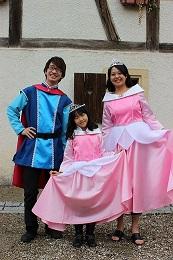 リトルワールドの衣装 フランス童話衣装