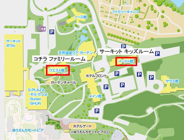 鈴鹿サーキットホテルのマップ