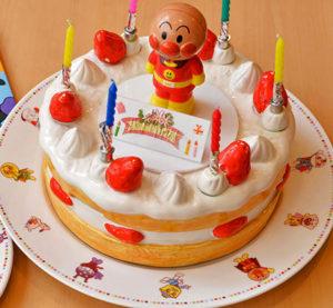 バースデーパックのバースデーケーキ(レプリカ)