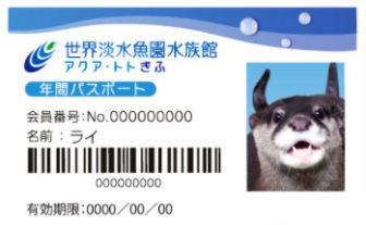 アクアトト岐阜の年間パスポート