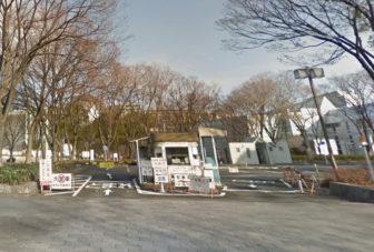 名古屋市科学館周辺にある白川公園駐車場