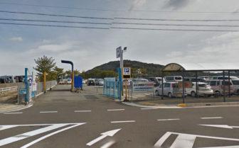鳥羽駅周辺の佐田浜第1駐車場
