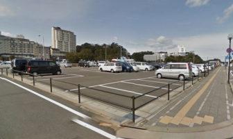 鳥羽駅周辺の佐田浜第3駐車場