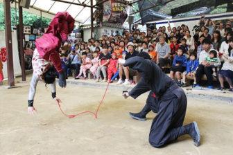 伊賀流忍者博物館の忍者ショー