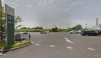 名古屋港ブルーボネットの駐車場