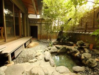 お部屋専用の露天風呂