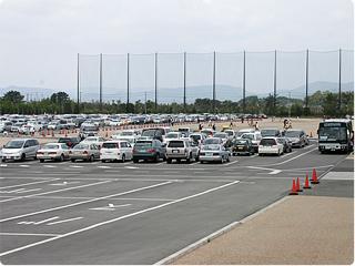 浜名湖ガーデンパークの駐車場01