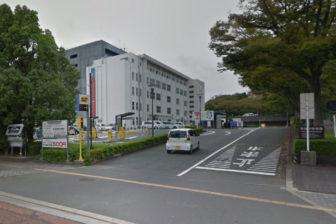 タイムズ浜松市役所本庁舎の入口