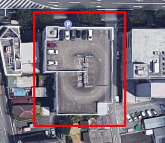 上から見た日管浜松城パーク