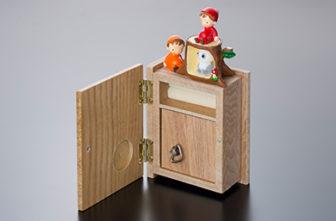 オルゴールケースのブック型