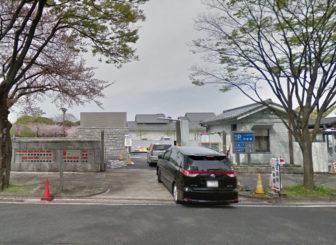 名古屋城の正門前駐車場