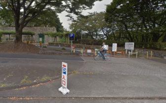 名古屋城の二の丸東駐車場