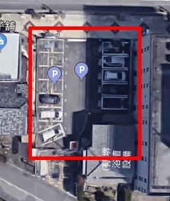 上から見た名鉄協商パーキング岡崎康生通02