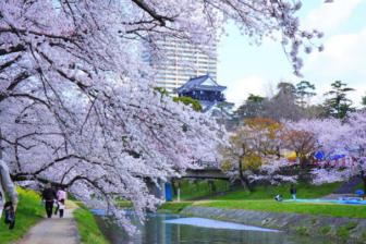 岡崎公園と岡崎城