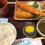 まるは食堂名古屋駅店(うまいもん通り)のランチメニューはエビフライが人気?口コミも!