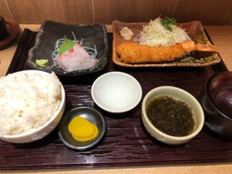 JR名古屋駅定食