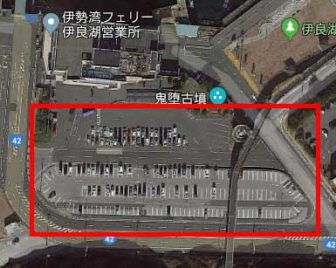 伊良湖の駐車場02