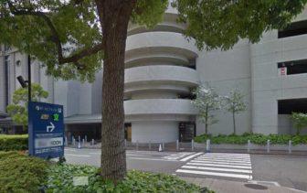 神戸ポートピアホテルの駐車場