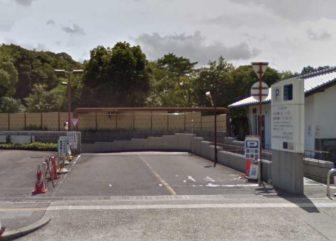 徳川園市営駐車場の入口
