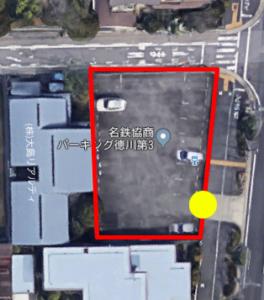 上から見た名鉄協商徳川町第3
