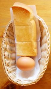 トーストとゆで玉子