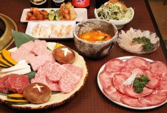 大平原のお肉などの料理
