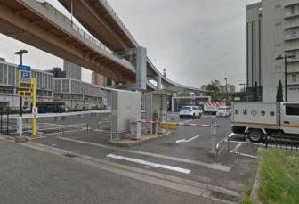 かもめりあ駐車場の入口