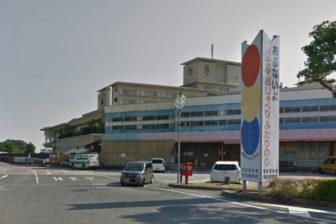 水族館前駐車場の入口