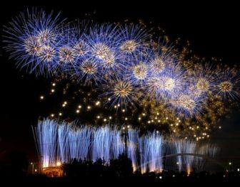 豊田おいでんまつり花火大会の花火