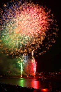 全国花火大会の花火
