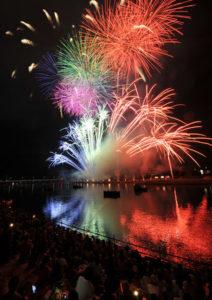 豊橋祇園祭の花火