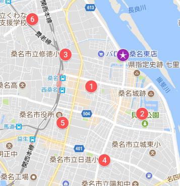 臨時駐車場マップ