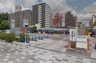 「りぶら」の駐車場入口