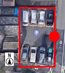 上から見たLucky Parking 則武新町2丁目