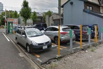 Lucky Parking 則武新町2丁目の入口