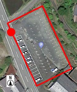 上から見た駐車場 A-3
