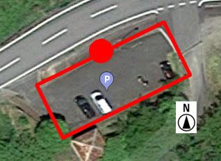 上から見た駐車場 B-4
