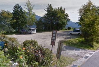 駐車場 B-5の入口
