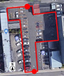 上から見た名鉄協商橦木町第3