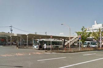 桑名駅のバスターミナル
