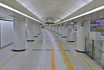 名古屋駅の「栄・藤が丘方面 1番ホーム」