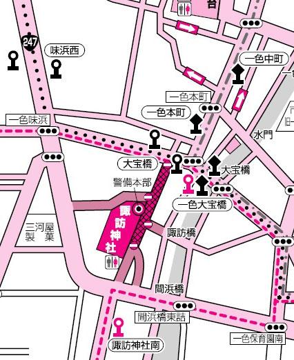 三河一色大提灯まつり2018の交通規制