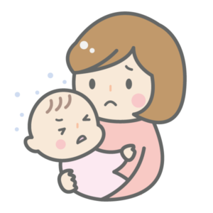 人見知りの赤ちゃん