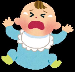 赤ちゃんの寝ぐずりの原因