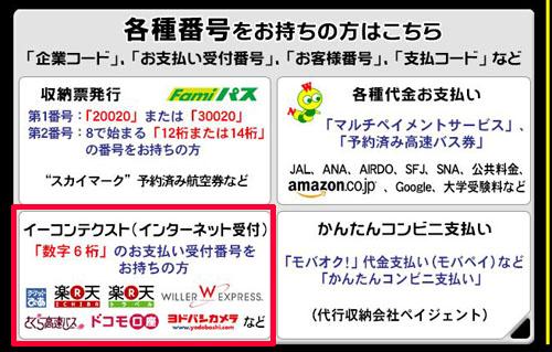 219-b03-Famiポート「イーコンテクスト(インターネット受付)」