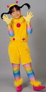 虹をイメージした衣装