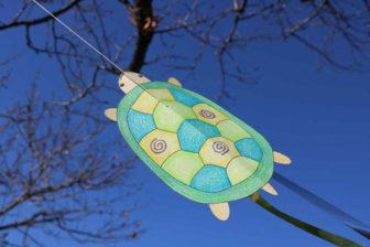 「いきもの凧づくり」の凧