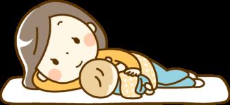 二人育児の寝かしつけ