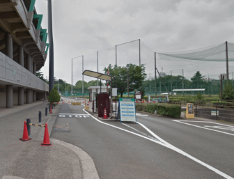 A駐車場料金ゲート