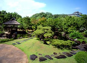 姫路城の好古園